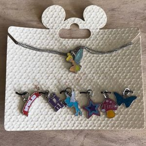 Disney charm necklace